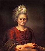 Portret of A.L. Venetsianova, Artist-s Mother, venetsianov