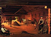 Threshing-Floor, venetsianov