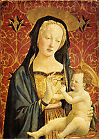 Madonna and Child , 1437, veneziano