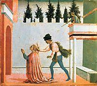 Martyrdom of St. Lucy, c.1448, veneziano