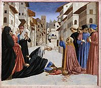 The Miracle of St. Zenobius, 1448, veneziano