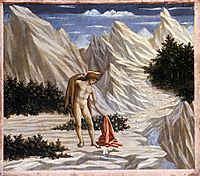 St. John in the Desert, c.1445, veneziano
