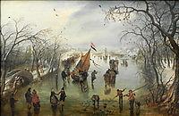 Winter Scene, 1614, venne