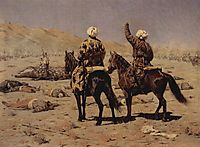 About the war, 1873, vereshchagin