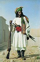 Afghan, 1868, vereshchagin