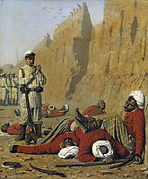 After failure, 1868, vereshchagin