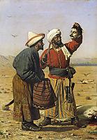 After good luck, 1868, vereshchagin