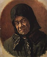 Beggar, Ninety Six Years Old, c.1891, vereshchagin