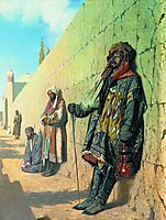 Beggars in Samarkand, 1870, vereshchagin