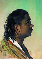 Boy-Uzbek, 1868, vereshchagin