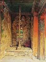 Buddhist Prayer Machine, 1875, vereshchagin