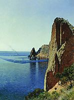 Cape Fiolent near Sevastopol, 1897, vereshchagin