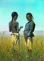 The children of the tribe Solonov, 1870, vereshchagin