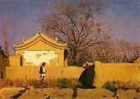 Chinese house, 1870, vereshchagin