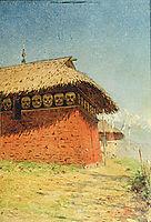Church of God of War (shrine, Buddhist Temple), c.1875, vereshchagin