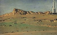 Corner of the Turkish Redoubt Captured on May 30 but Abandoned on May 31, vereshchagin