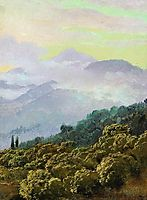 Crimean mountains, vereshchagin