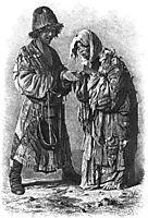 Douvana (Begging dervishes), 1873, vereshchagin