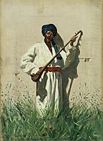 Dutar-player, 1870, vereshchagin
