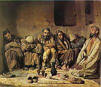 Eaters of opium, 1868, vereshchagin