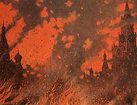 Fire of Zamoskvorechye, c.1896, vereshchagin