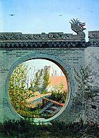 A Garden gate in Chuguchak, vereshchagin