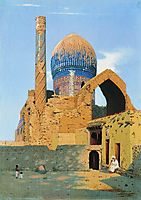Gur Emir Mausoleum. Samarkand, 1870, vereshchagin