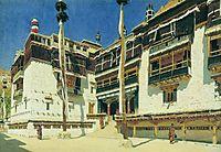 Hemis Monastery in Ladakh, vereshchagin