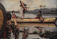 In a Boat, 1904, vereshchagin