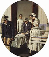 In the Hospital, 1901, vereshchagin