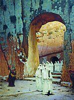 In Jerusalem. Royal tombs, 1885, vereshchagin