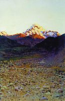 In the mountains, vereshchagin