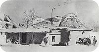 Inn near Tashkent, 1867, vereshchagin
