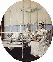 Interrupted Letter, 1901, vereshchagin