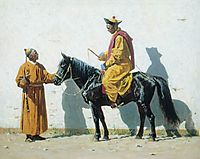 Kalmyk-lama, 1870, vereshchagin