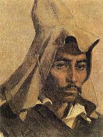 Kazakh with his national headdress, c.1867, vereshchagin