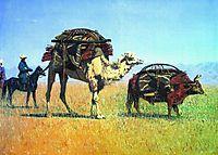 Migrations Kirghiz, 1870, vereshchagin