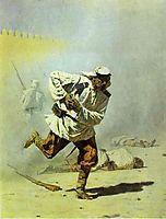 Mortally Wounded, 1873, vereshchagin