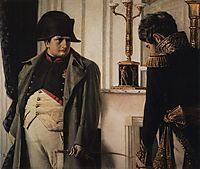 Napoleon and general Lauriston ( Peace at all costs), vereshchagin