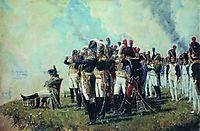 Napoleon near Borodino, 1897, vereshchagin
