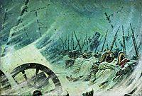 The Night Bivouac of the Great Army, vereshchagin