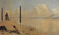 Picket on the Danube, 1879, vereshchagin