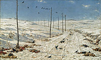 Road of the War Prisoners , 1879, vereshchagin