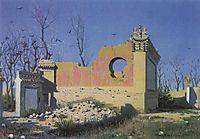 Ruins of a Theater in Chuguchak, vereshchagin