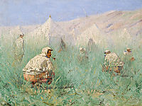 Russian Camp in Turkestan, vereshchagin