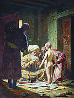The Sale of the Child Slave, 1872, vereshchagin