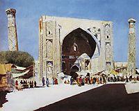 Samarkand, 1870, vereshchagin