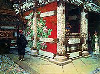 Sinto Temple in Nikko, c.1904, vereshchagin