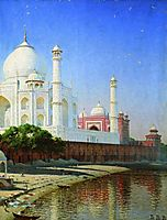 Taj Mahal Mausoleum, 1876, vereshchagin