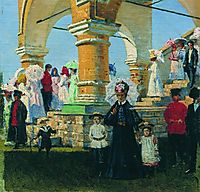 Trinity Sunday. Village Kolomna, vereshchagin